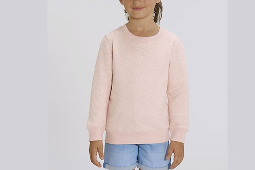 Sweatshirt Fille- Col rond - Couleurs