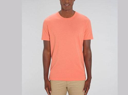 Tee-shirt 100% Coton Bio doux équitable - COLORIS PASTELS