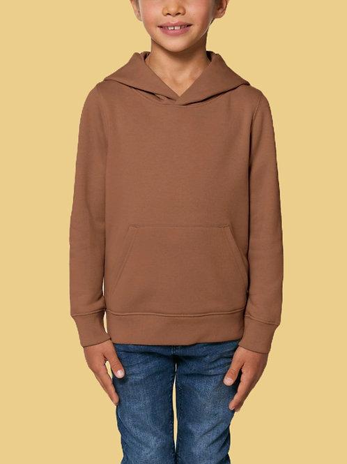 Sweatshirt Garçon - Capuche - Couleurs chaude