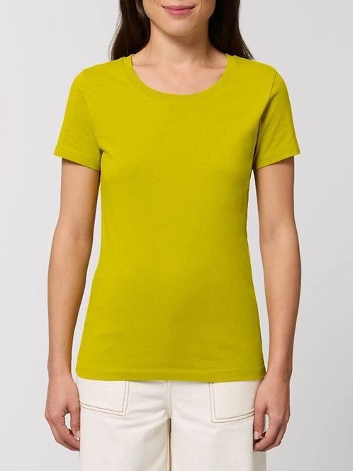 Tee-shirt manches courtes col rond -  LES COULEURS CHAUDES