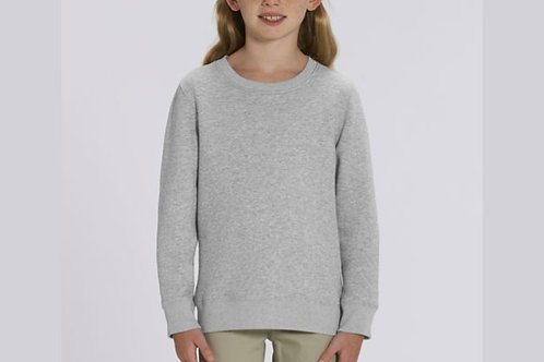 Sweatshirt Fille- Col rond - Classiques