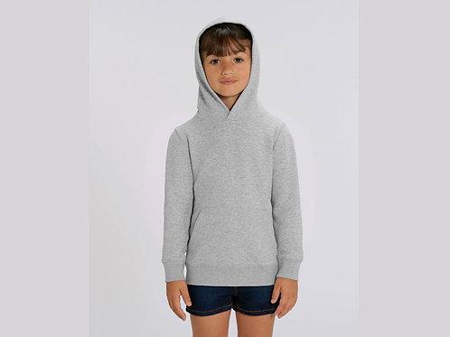 Sweatshirt FILLE - Capuche - Couleurs Chinés
