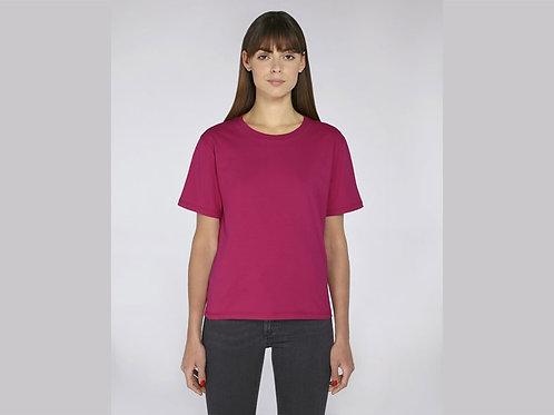 T-shirt épais (200g) en coton biologique - FRINGES
