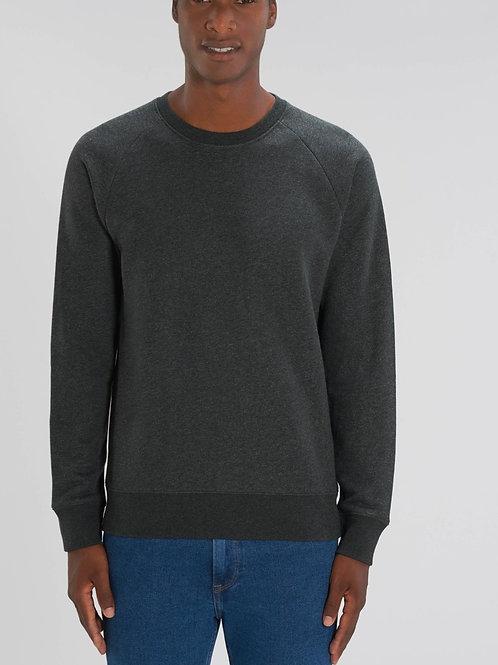 Sweat-shirt Bio Homme Uni-  STROLLER - les chinés