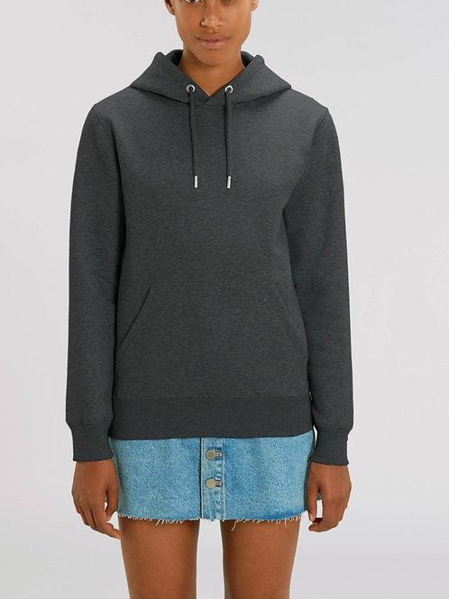 Sweatshirt BIO FEMME CRUISER avec capuche -  Coloris Chinés