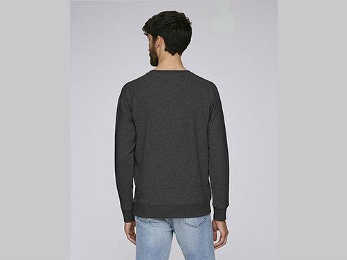 Sweat-shirt Bio Homme Chiné - coloris chinés - Gris  chiné