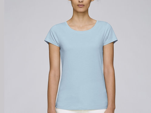 Tee-shirt manches courtes col rond - GAMME PASTEL