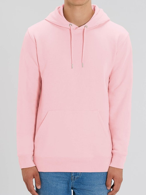 Sweatshirt BIO Homme avec capuche -  Coloris Pastels