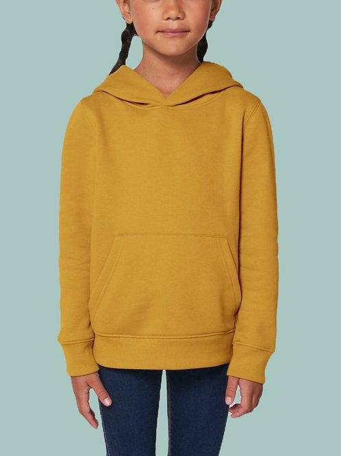 Sweatshirt FILLE - Capuche - Couleurs Chaudes