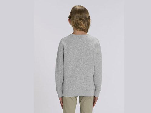 Sweatshirt Fille- Col rond - Classiques - MINI CHANGER