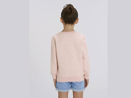 Sweatshirt Fille- Col rond - MINI CHANGER
