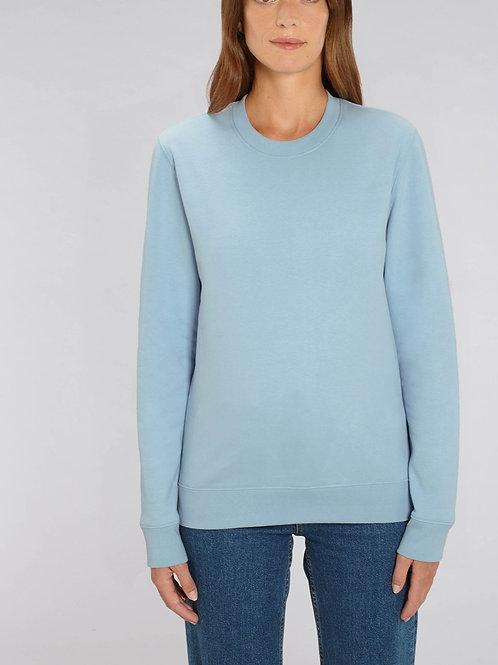 Sweat-shirt Bio Femme Uni-  CHANGER - les couleurs pastels