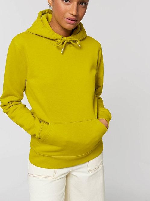 Sweatshirt BIO FEMME CRUISER avec capuche -  Coloris Chauds