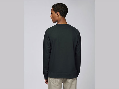 Sweat-shirt Bio Homme Uni- coloris classique -STROLLER