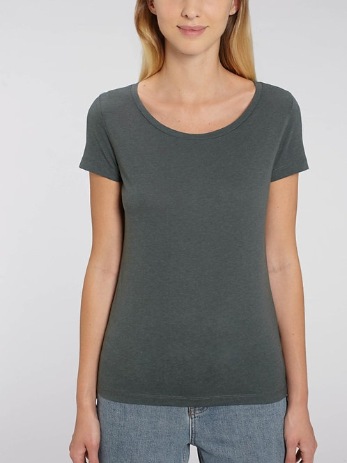 Tee-shirt col rond bio fluide en coton Modal - Lover