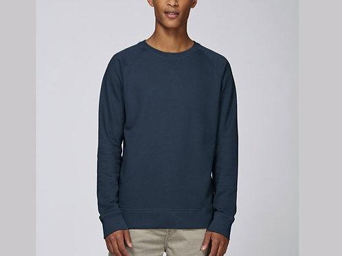 Sweat-shirt Bio Homme Uni- coloris classique