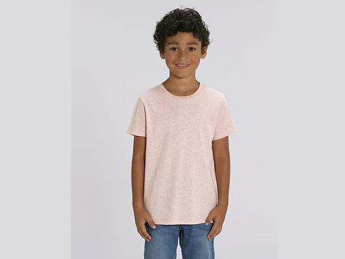 T-shirt bio garçon à col rond  - COLORIS CHINÉS
