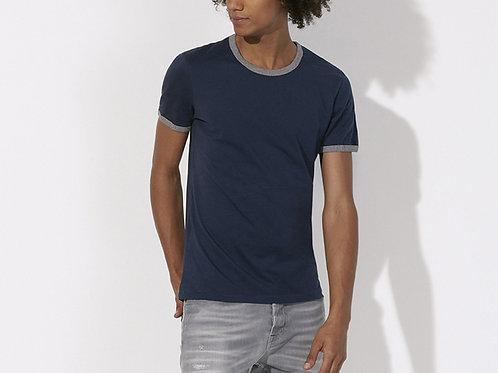 """T-shirt Bio manches courtes Bords contrasté """"Holds"""""""
