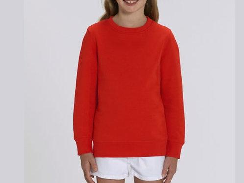 Sweatshirt Fille- Col rond - Couleurs