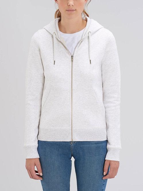 Sweatshirt à Capuche fermeture zip Femme - Chinés spéciaux - Editor -
