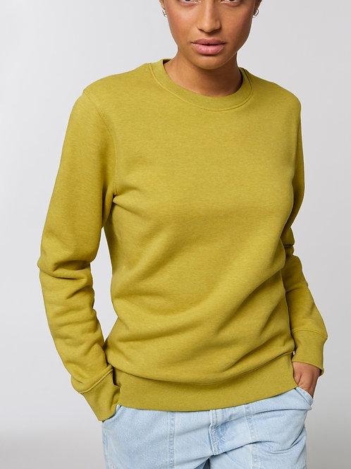 Sweat-shirt Bio Femme Uni-  CHANGER - les chinés spéciaux