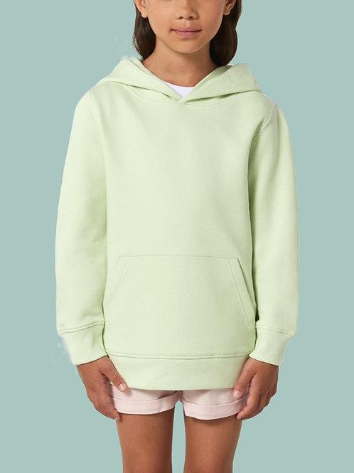 Sweatshirt FILLE - Capuche - Couleurs Pastels