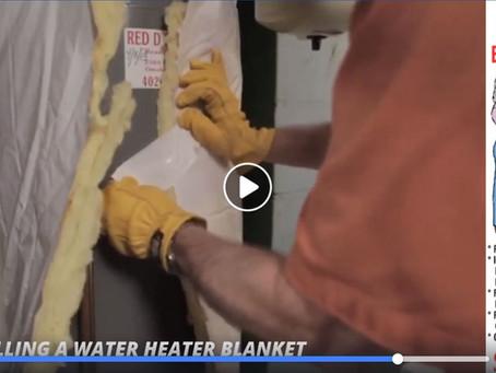 DIY Tip: Installing a Water Heater Blanket