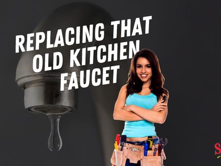 DIY Tip: Uninstalling An Old Kitchen Faucet