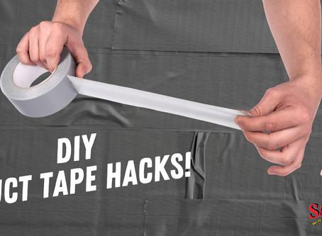 DIY Tip: Duct Tape Hacks