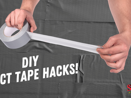 DIY Tip: Duct Tape Hacks