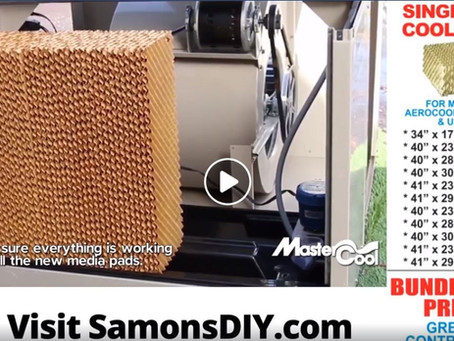 DIY Tip: Getting Your Evaporative Cooler Ready