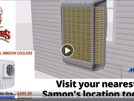 DIY Tip: Installing a Window Evaporative Cooler