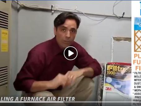 DIY Tip: Changing Your Furnace Air Filter