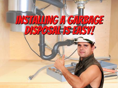 DIY Tip: Easily Install a Garbage Disposal