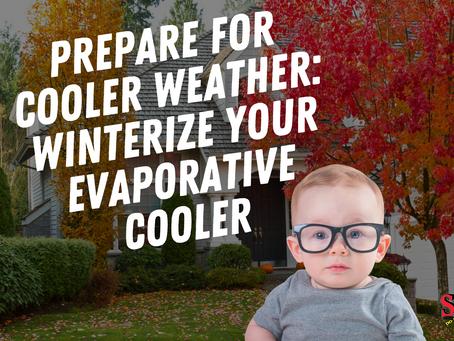 DIY Tip: Winterize Your Evaporative Cooler