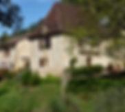 chambre d'hote en pierre vue exterieur