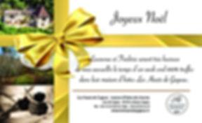 chambre d'hote bon cadeau truffe noire perigord