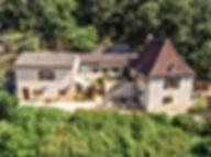 Maison perigourdine typique en pierres naturelles