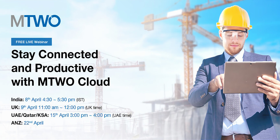 Webinar: Stay Connected and Productive with MTWO Cloud