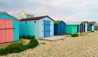 Bracklesham Beach huts