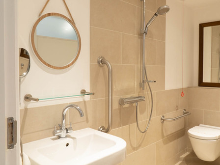 Wet room/ wheel in walk in suitable for disabled use