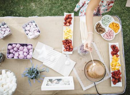 Ideas para montar un Candy Bar, el rincón más especial de tu celebración.