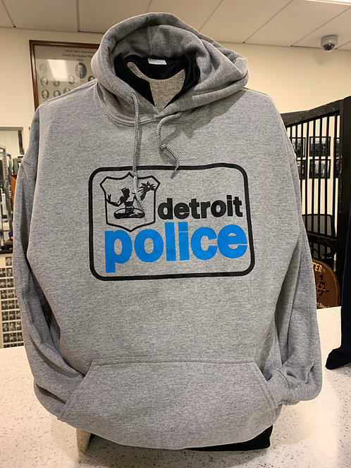 Detroit Police Old School Hoodie