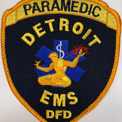 Limited Edition Detroit Fire Department EMS/Paramedic Patch