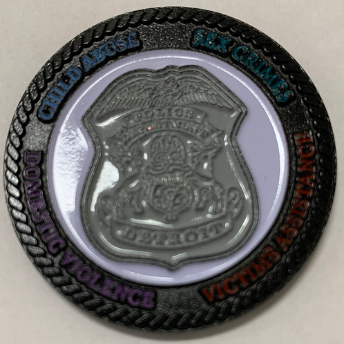DPD Special Victims Unit Challenge Coin