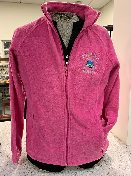 Detroit Police Pink Fleece