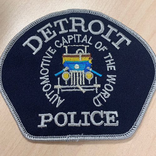 Detroit Police Patch