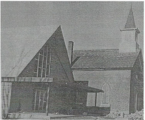 New Church Being Built Beside Old Church