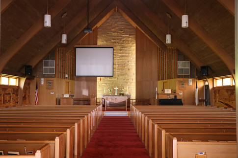 Inside of Chuch Today