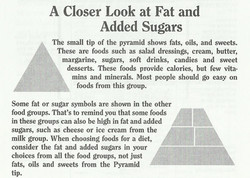 A Closer Look at Fat and Added Sugars